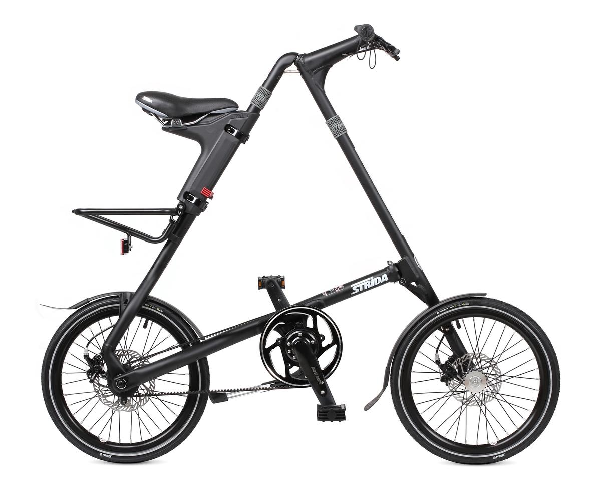 Велосипед Strida SD (2017) матовый черный O/SСкладные велосипеды<br><br><br>Бренд: Strida