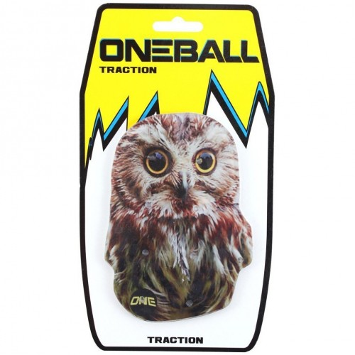 Наклейка на доску ONEBALL TRACTION - OWL ASSORTED one size