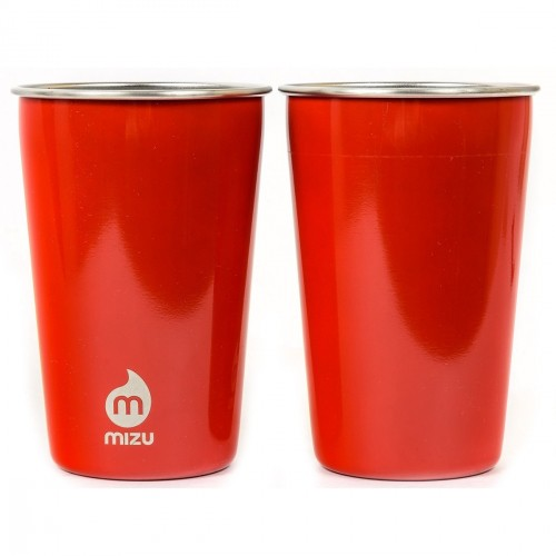 Стакан MIZU PARTY CUP SET Glossy Red LE one size