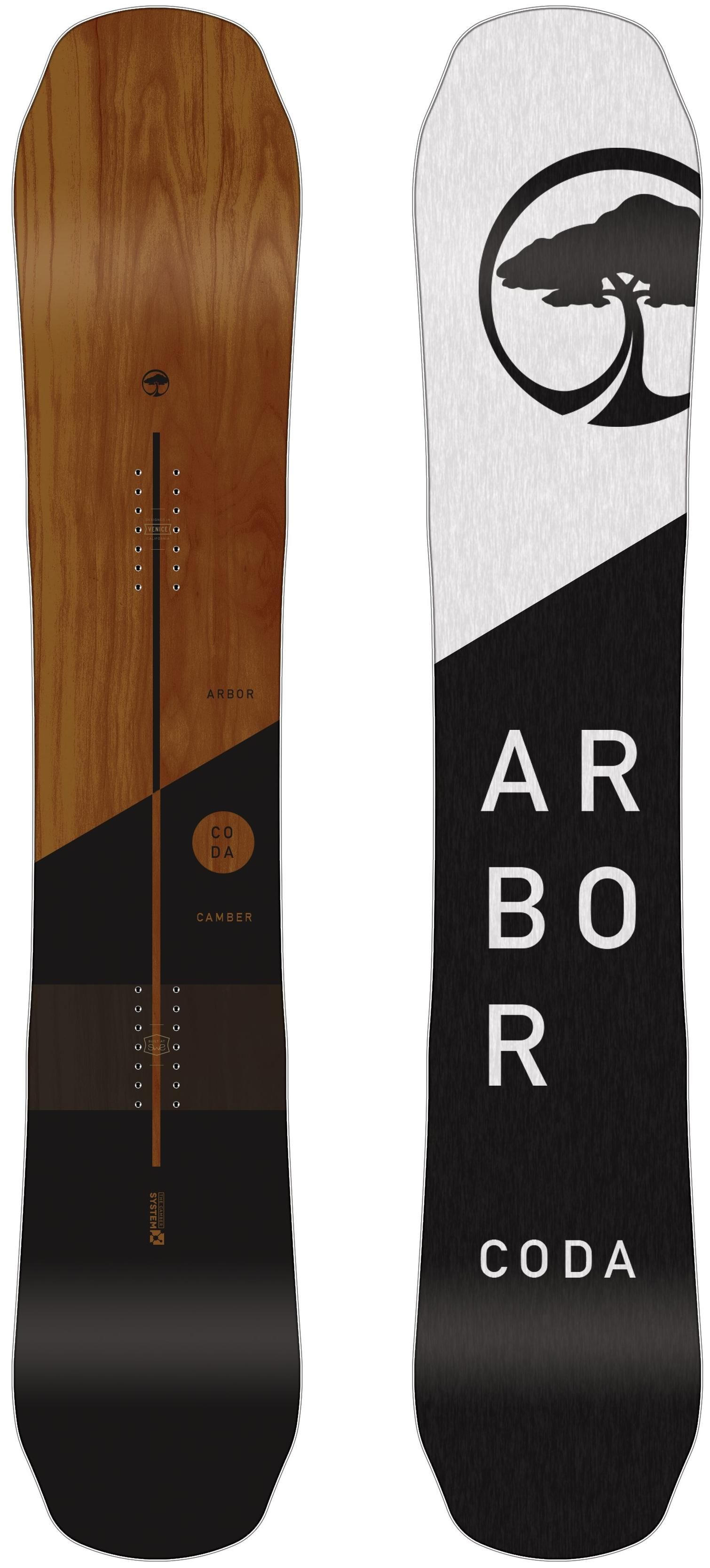 Сноуборд Arbor Coda Rocker (2019) (156)