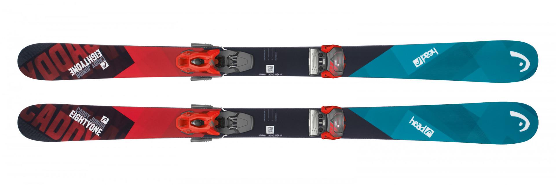 Горные лыжи Head Caddy  Jr + Крепление SX 7.5 AC размер 141 (2019)