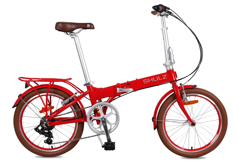 Велосипед Shulz Easy (2017) красныйСкладные велосипеды<br><br><br>Бренд: Shulz