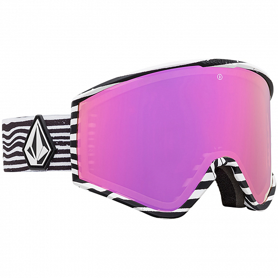 Маска ELECTRIC KLEVELAND VOLCOM /BROSE/PINK CHROME +  YELLOW