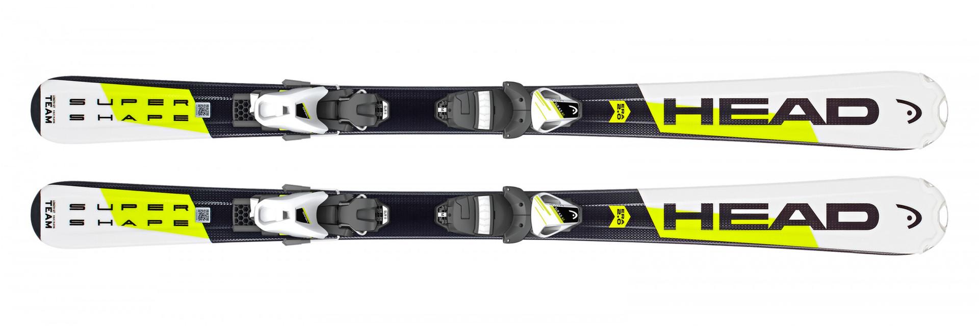 Детские горные лыжи Head Supershape Team SLR2  (67-107) + Крепление SLR 4.5 AC  размер 77 (2019)