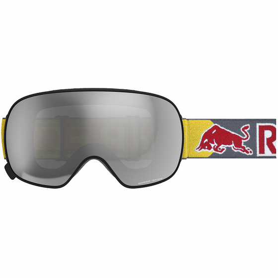 Маска SPECT RED BULL MAGNETRON BLACK/SILVER SNOW - SMOKE WITH SILVER MIRROR CAT.