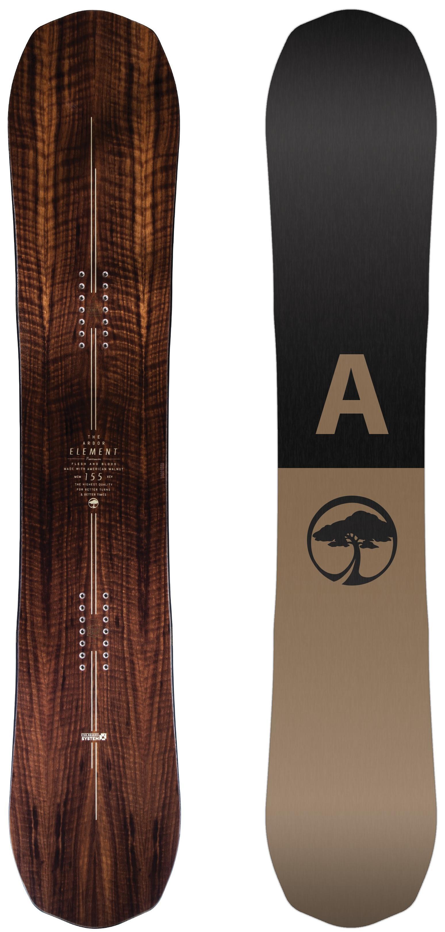 Сноуборд Arbor Element (2019) (166 mW)