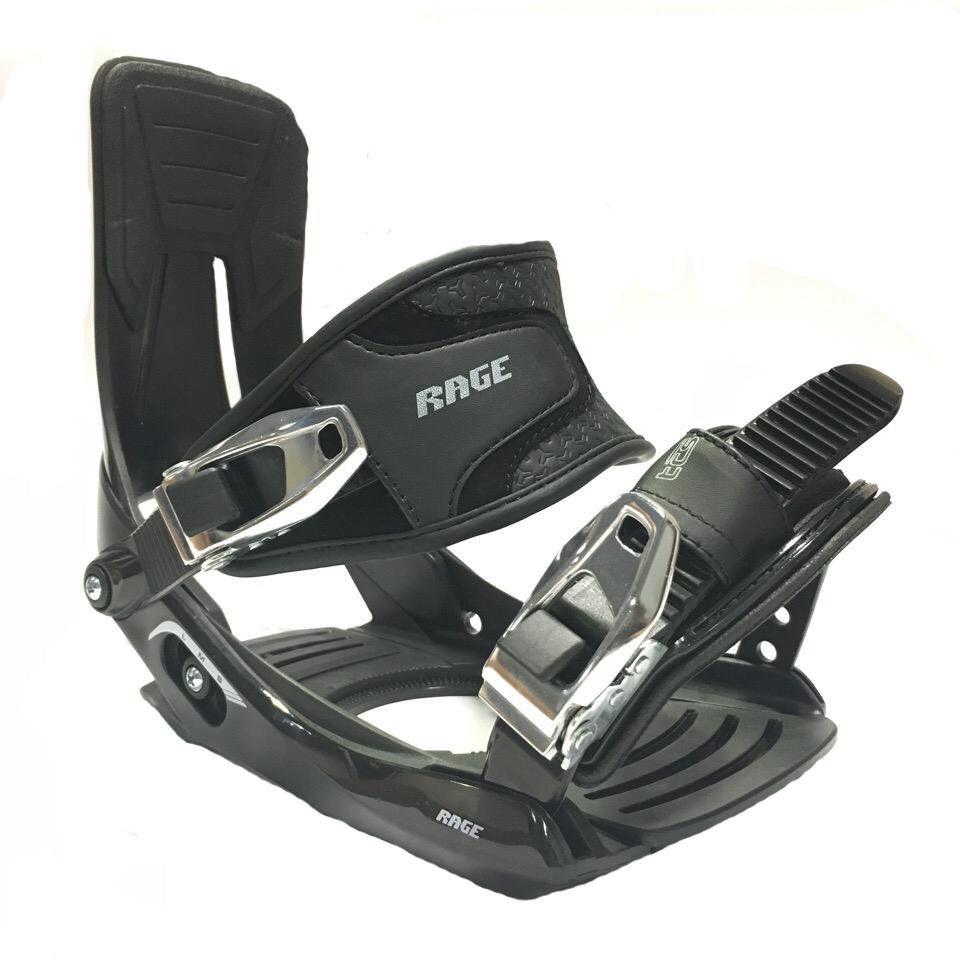 Крепления для сноуборда Rage MP 720 black F18Арт: 610162RG, Размер: S/M/L, Сезон: F18,