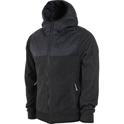Толстовка HOLDEN SHERPA HYBRID ZIP UP BLACK