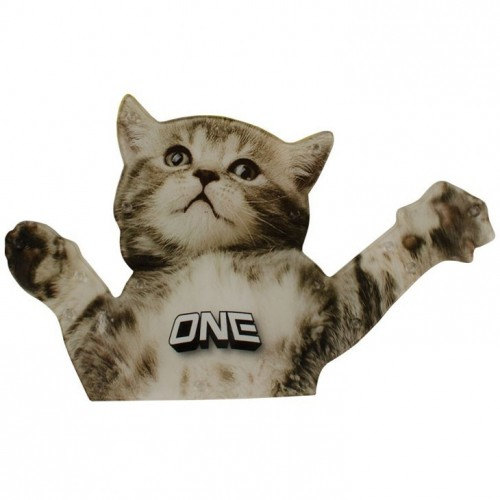 Наклейка на доску ONEBALL TRACTION - FLYING CAT ASSORTED one size