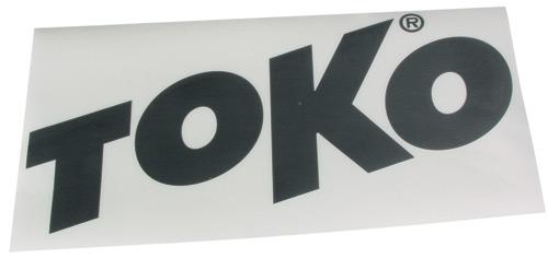 Наклейка TOKO TOKO Letter Sticker BlackОсновной раздел каталога<br><br><br>Бренд: TOKO