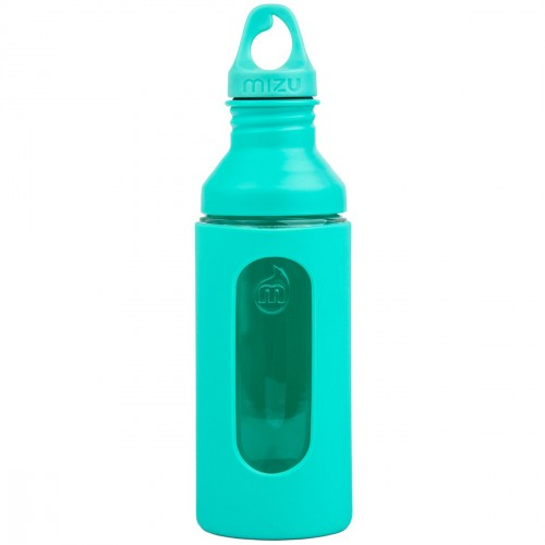 Бутылка для воды MIZU G7 Glass Bottle Mint w Loop Cap one size