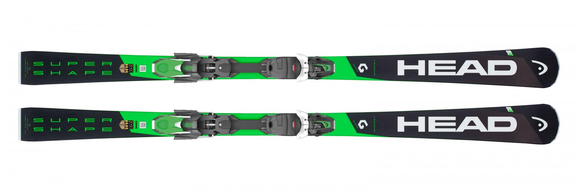 Горные лыжи Head Supershape i.Magnum + Крепление PRD 12 GW размер 163 (2019)