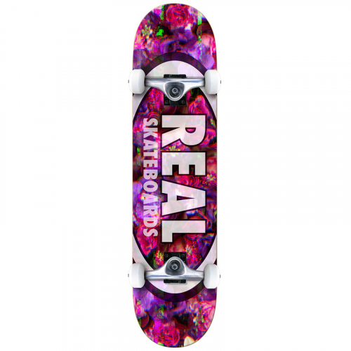 Комплект скейтборд REAL SKATEBOARDS CMPLT OVAL GLITCH 7,75