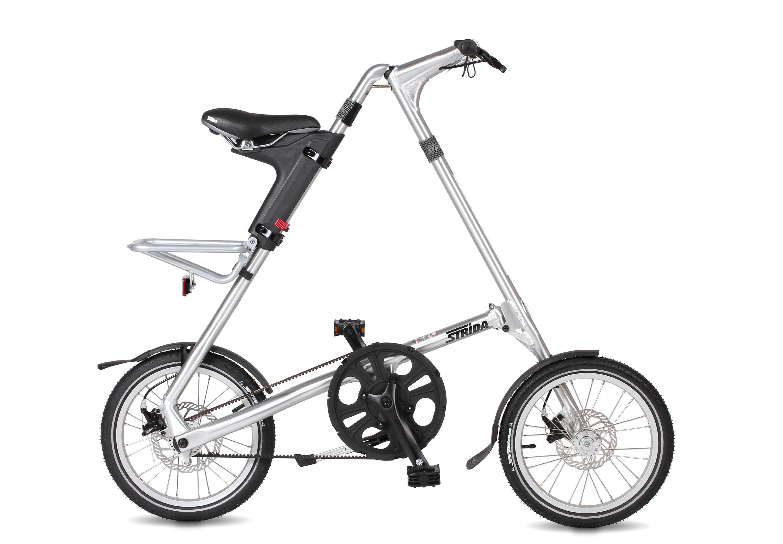 Велосипед Strida 5.2 (2017) серебристый O/SСкладные велосипеды<br><br><br>Бренд: Strida