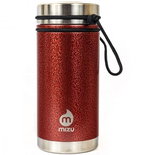 Термобутылка для воды MIZU V5 Red Hammer Paint w V Lid one size