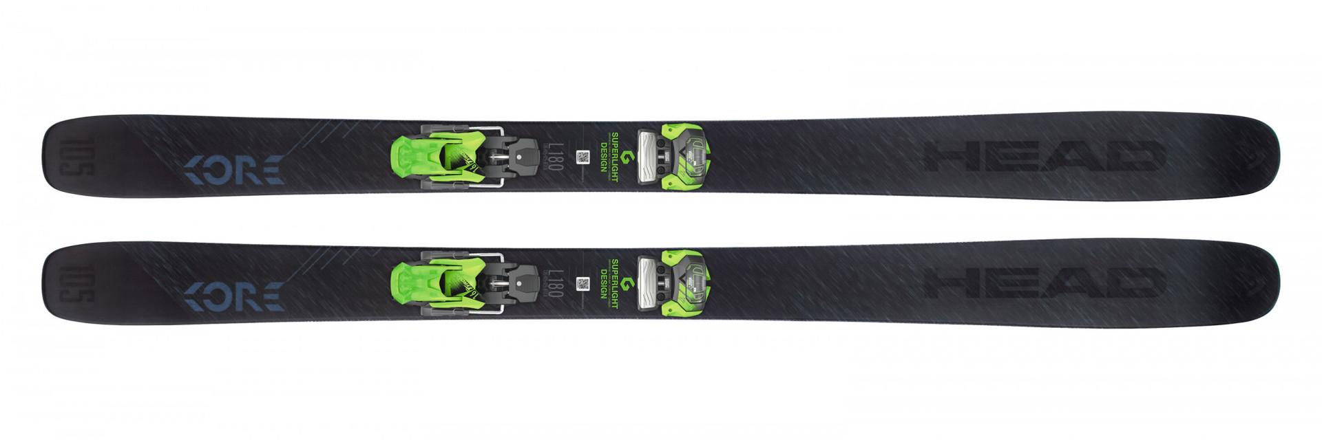 Горные лыжи Head Kore 105 + Крепление ATTACK? 16 GW  размер 180 (2019)