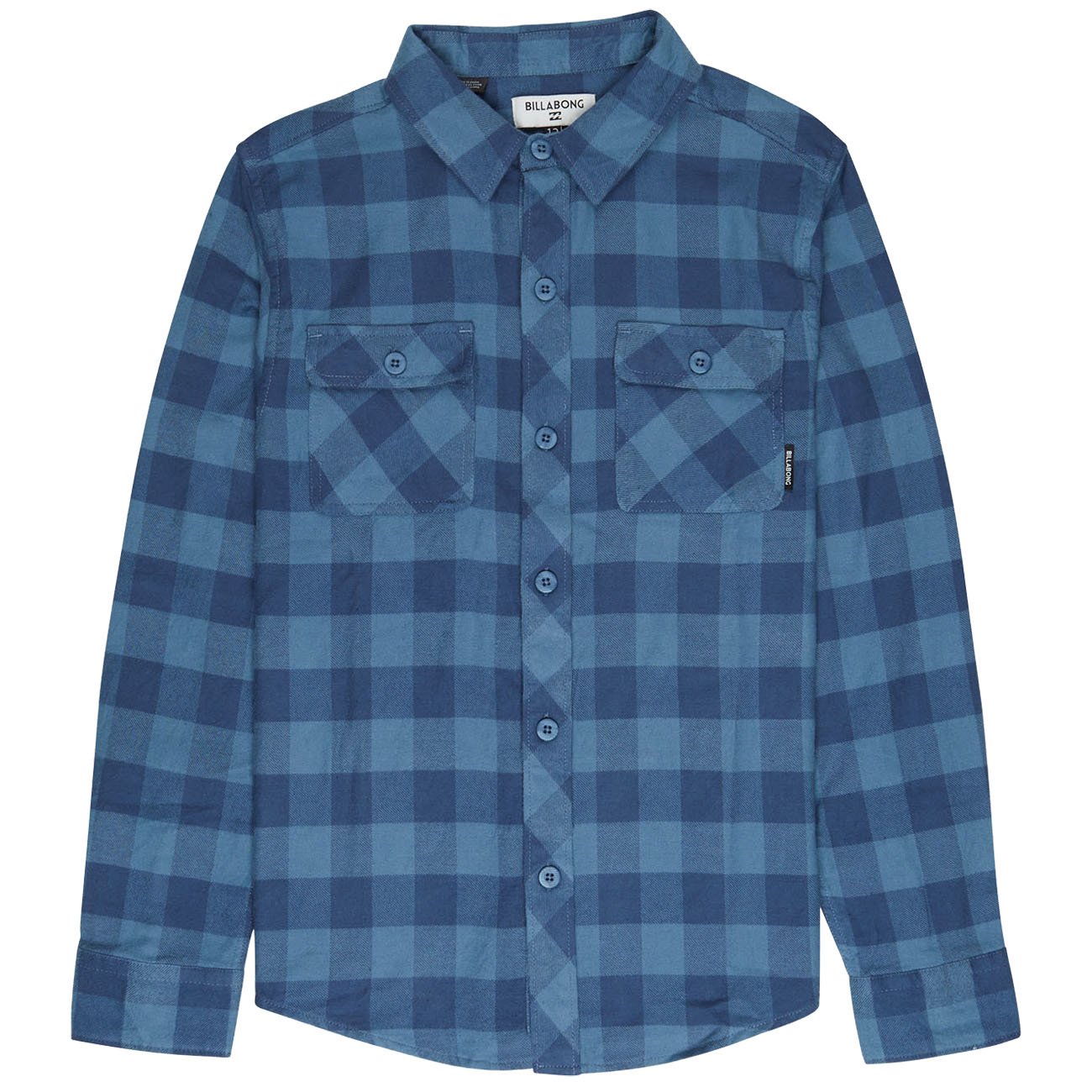 Рубашка BILLABONG ALL DAY FLANNEL BOY WASHED BLUE