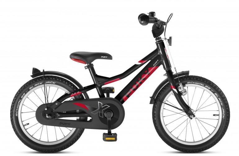 Двухколесный велосипед Puky ZLX 16 Alu 4270 black чёрный