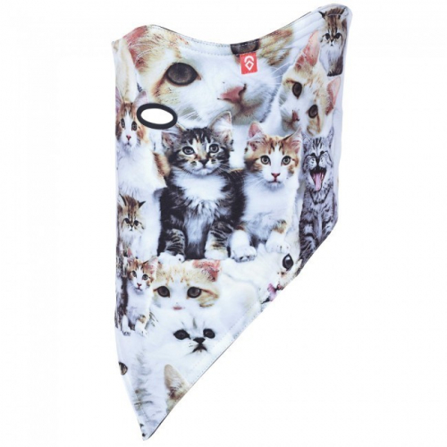 Бандана AIRHOLE FACEMASK 2 LAYER MEOW