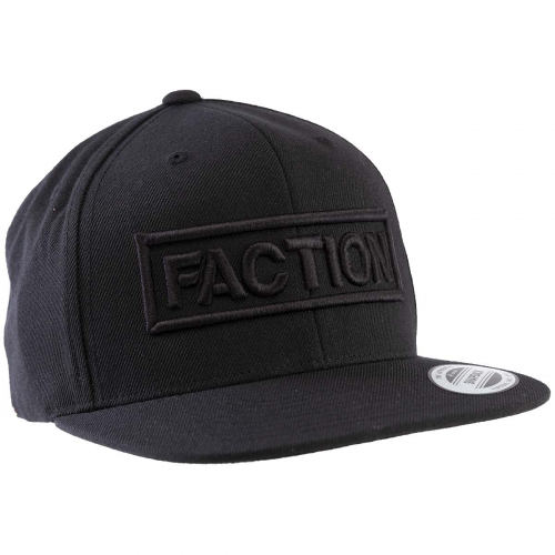 Кепка FACTION LOGO FLEXFIT CAP BLACK