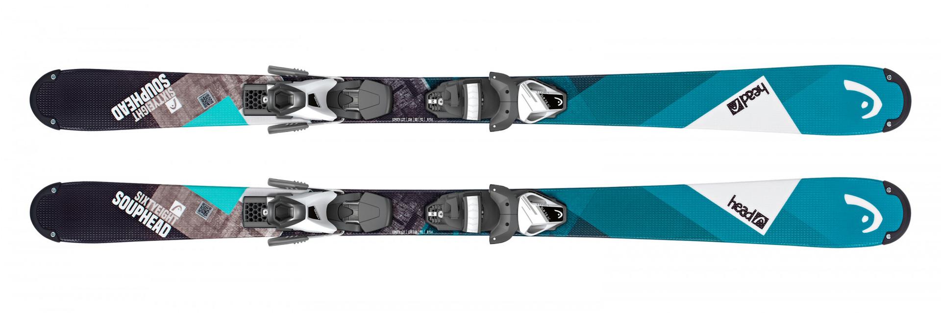 Горные лыжи Head Souphead SLR2 (117-137) + Крепление SLR 7.5 AC размер 127 (2019)