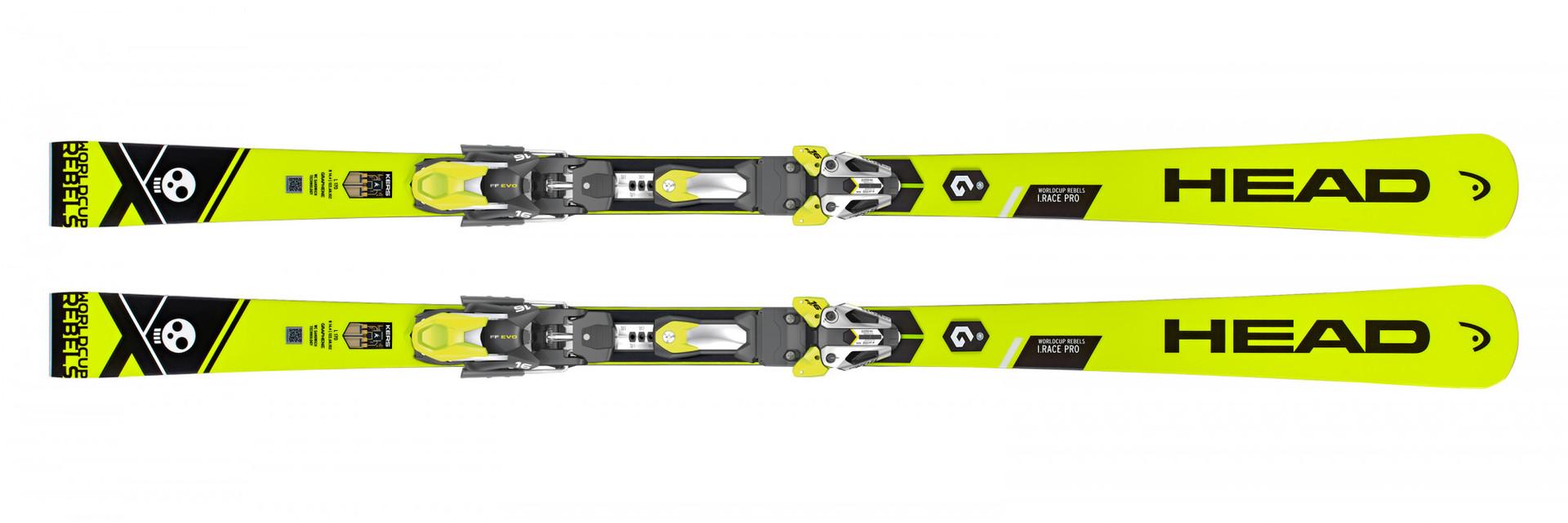 Горные лыжи Head WorldCup Rebels i.Race Pro + Крепление FF EVO 16 размер 170 (2019)